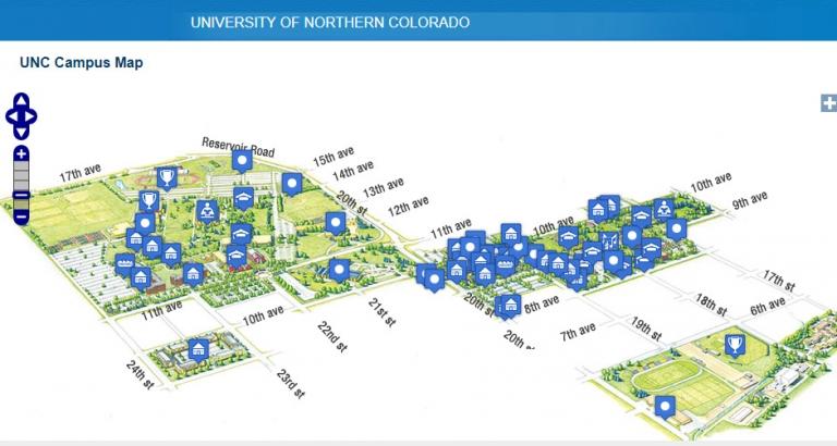university of northern colorado campus map University Of Northern Colorado Map Developer Jesse university of northern colorado campus map