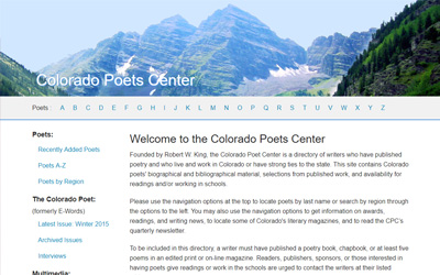 Colorado Poets Center thumbnail