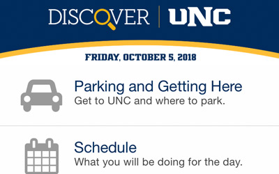 Discover UNC Mobile App Integration thumbnail